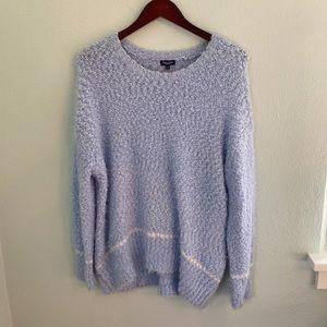 ✨HP✨ Splendid Fuzzy Blue Sweater